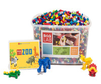 BrickLAB Zoo Summer STEM Camp Kit for Grades 1-3