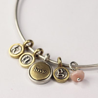 Love + Letters Bangle