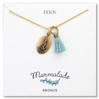Fern Tassel Necklace