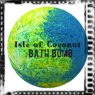 Isle of Coconut Bath Bomb