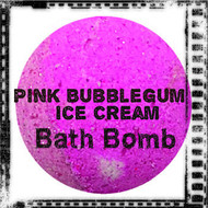 Pink Bubblegum Ice Cream Bath Bomb