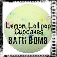 Lemon Lollipop Cupcakes™ Bath Bomb