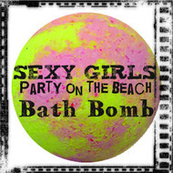 Sexy Girls Party on the Beach™  Bath Bomb