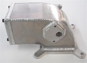 6061 Sheetmetal Elbow - for Edelbrock Victor Jr 4 6 2v Intake