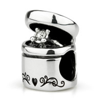 """Marry Me"" Engagement Ring Charm-Sterling Silver"