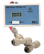 DM1 Dual Inline TDS Meter