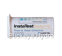 Insta-Test Free and Total Chlorine Test Strips