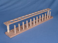 TEST TUBE RACK, WOOD - 12HOLE WITH PEGS