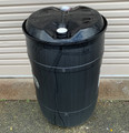 200L BLACK STERILISED CLOSED DRUM