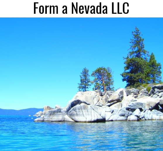 Click to compare services and prices and form a Nevada LLC with our help. We have over 22 years experience forming and managing Nevada LLCs. Call us Toll Free at (888) 463-8462. Lake Tahoe Nevada Morning - Photo copyright 2015 by Kris Tengberg