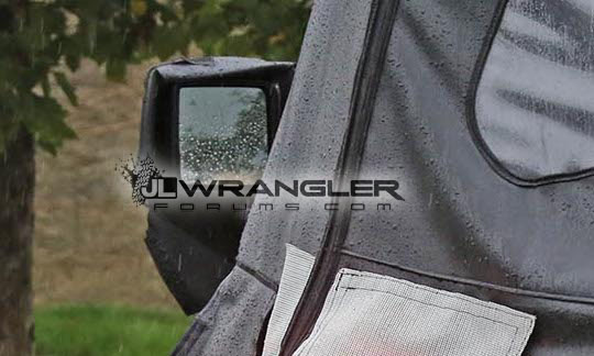 2018 Jeep Wrangler Jl Jlu Leaked Photos Blind Spot