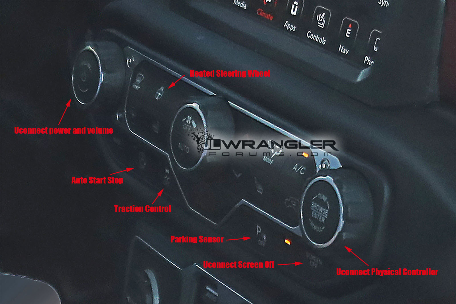 2018 Jeep Wrangler Jl Jlu First Look At The Production Interior