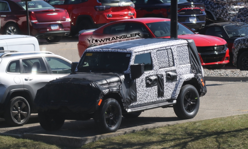 Jeep Wrangler Jl Unlimited Hard Top Exposed Offroad