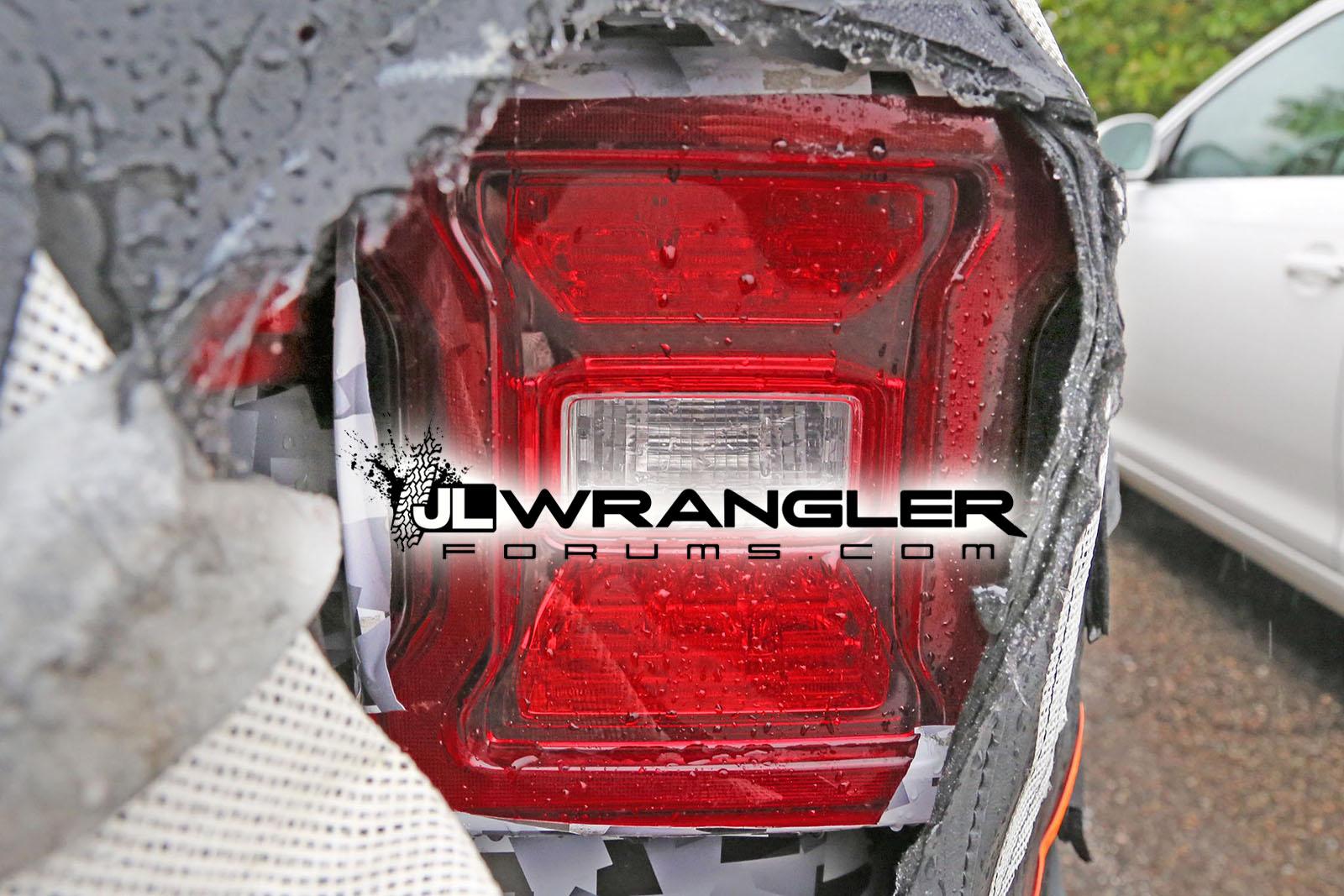 2018 Jeep Wrangler Jl Jlu Leaked Photos Blind Spot