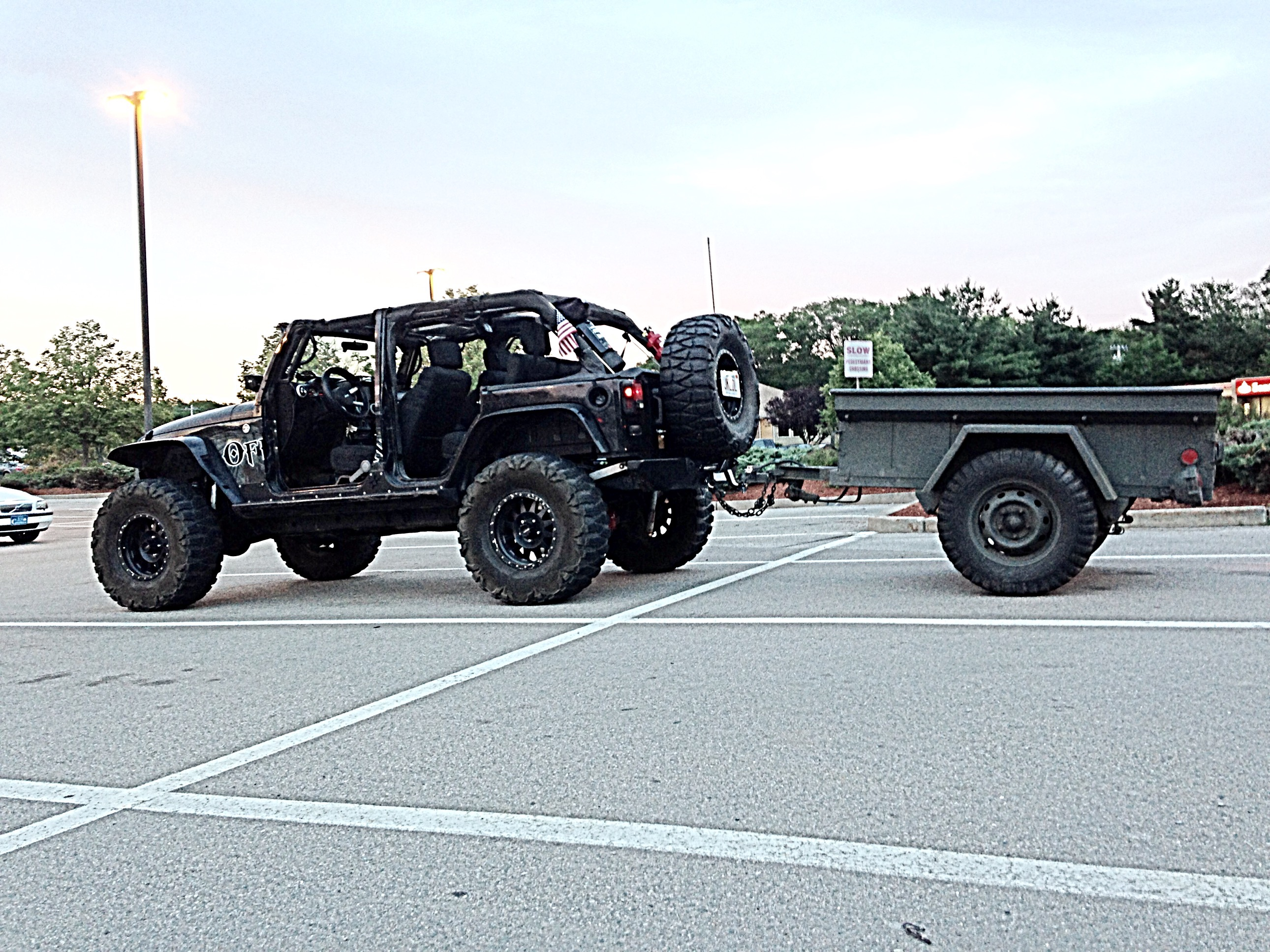 Jeep Soft Tops >> Our M416 Military Trailer Project - Offroad Elements, Inc.