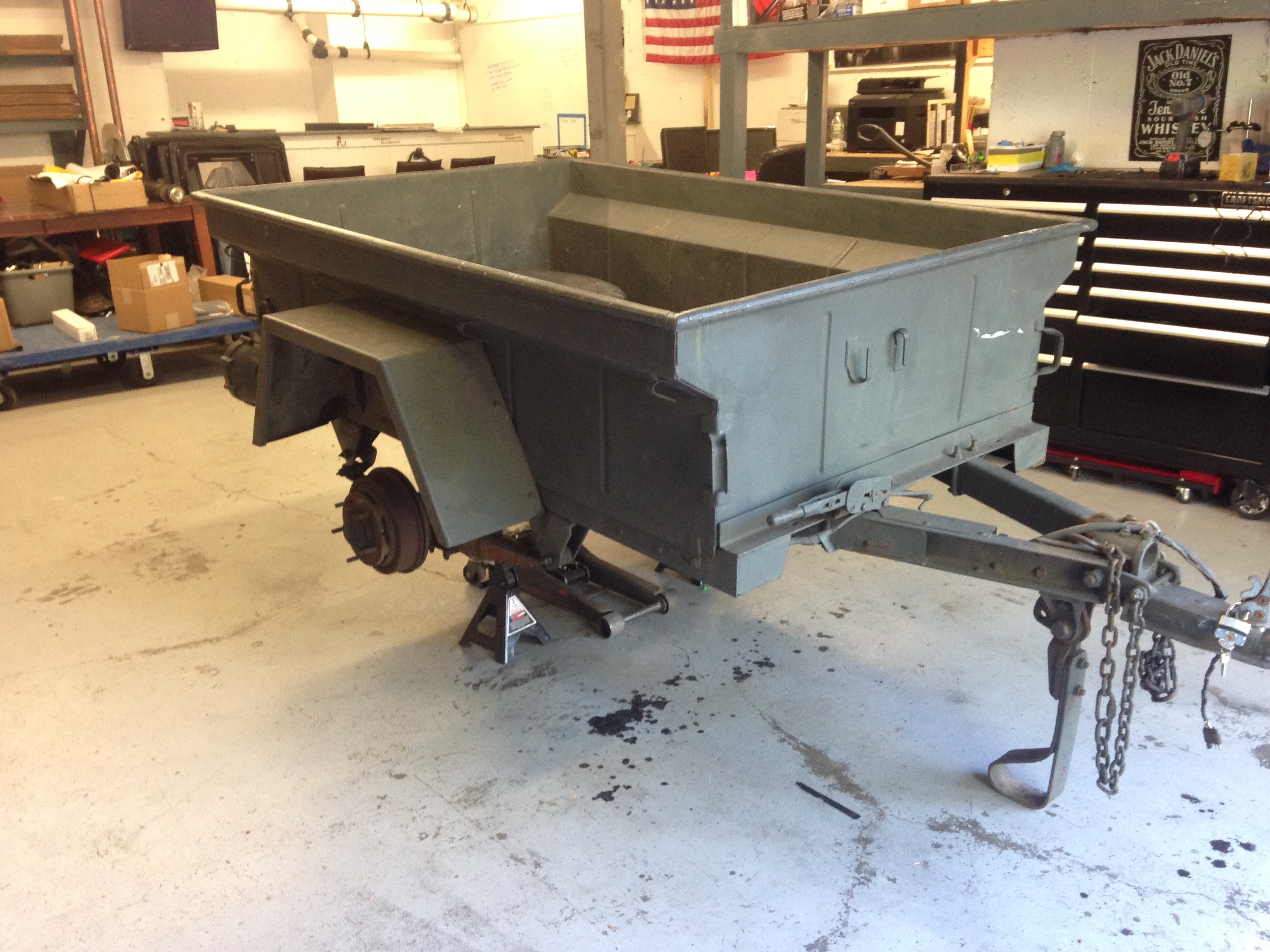 Our M416 Military Trailer Project Offroad Elements Inc