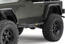 Smittybilt 76631 SRC Side Armor & Step for Wrangler TJ & YJ 1987-2006