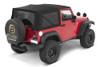 Bestop 54822-17 Supertop NX Soft Top in Black Twill for 2 Door Jeep Wrangler