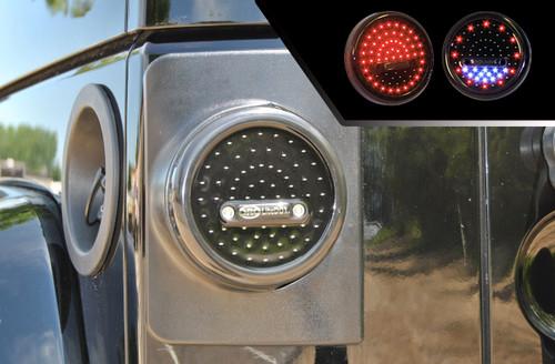 ORO LD-RRW2\LP LiteDOT LED Taillights u0026 Brackets Wrangler JK 2007+ & ORO LD-RRW2\LP LiteDOT Jeep Wrangler JK LitePanel