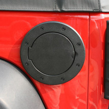 Rugged Ridge 11425.05 Non-Locking Gas Cap Fuel Door for Wrangler JK 07+