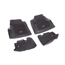 Rugged Ridge 12987.10 Front & Rear Floor Mats for Wrangler TJ 97-06
