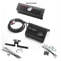 sPOD JK Six Switch Kit with Air Gauge