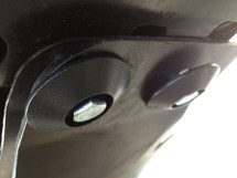Rock Dome Tapered Bolt Head Protectors for Skid Plate Systems on Jeep Wrangler JK