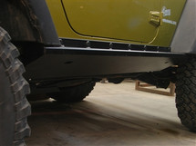 Boat Side Rock Sliders with Tread Plate JK 2 Door