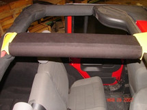 Rock Hard 4x4 Padding Kit for JK 2 Door Rear Overhead Center Bars