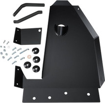 Steel Oil Pan/Transmission Skid Plate for Long Arm Susp. JK
