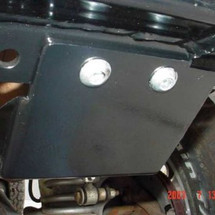 Steel Steering Box Skid Plate YJ, TJ, LJ