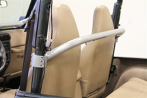 Rock Hard 4x4 Straight Across Front Harness Bar for TJ/LJ