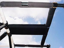 Overhead T-Section Padding Kit for TJ/LJ