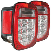Anzo USA 861082 LED Taillight Kit for Jeep Wrangler CJ7-TJ/LJ 1976-2006