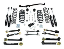 "TeraFlex 1456352 3"" Lift Kit with 8 FlexArms, Trackbar and 9550 Shocks for Jeep Wrangler TJ/LJ 1997-2006"
