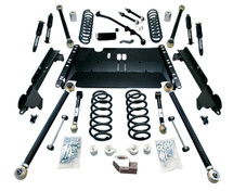 "TeraFlex 1249472 4"" Enduro LCG Lift Kit with 9550 Shocks for Jeep Wrangler TJ 1997-2006"