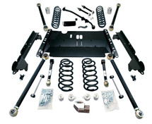 "TeraFlex 1449472 4"" Enduro LCG Long FlexArm Kit for Jeep Wrangler TJ/LJ 1997-2006"