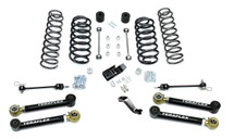"TeraFlex 1456430 4"" Lift Kit with 4 Lower FlexArms and Trackbar for Jeep Wrangler TJ/LJ 1997-2006"