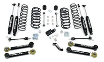 "TeraFlex 1456432 4"" Lift Kit with 4 Lower FlexArms, 9550 Shocks and Trackbar for Jeep Wrangler TJ/LJ 1997-2006"