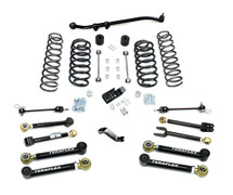 "TeraFlex 1456450 4"" Lift Kit with 8 FlexArms & Trackbar for Jeep Wrangler Tj/LJ 1997-2006"