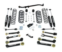 "TeraFlex 1456452 4"" Lift Kit with 8 FlexArms, 9550 Shocks and Trackbar for Jeep Wrangler TJ/LJ 1997-2006"
