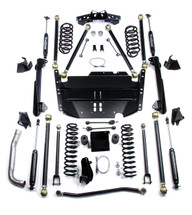 "TeraFlex 1249474 4"" Pro LCG Lift Kit with 9550 Shocks for Jeep Wrangler TJ 1997-2006"
