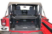 Rampage Products 86624 Rear Interior Sports Rack for Jeep Wrangler JK 2 Door 1997-2006