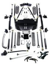 """TeraFlex 1249580  5"""" Pro LCG Lift Kit with High Steer and 9550 Shocks for Jeep Wrangler LJ 2003-2006"""