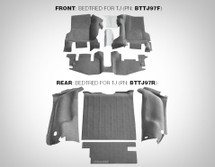 BedRug BedTred BTTJ97F Floor Liner For Jeep Wrangler TJ/LJ 1997-2006