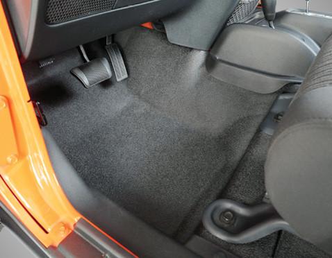 Bedrug Btjk07f4 Bedtred Floor Liner Front Kit Jk 4 Dr