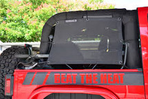 SpiderWebShade JK2Sides SpiderSides for Jeep Wrangler JK 2 Door 2007-2016