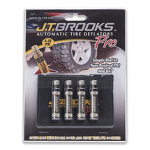 JT Brooks ATDP4 Automatic Tire Deflator Pro Set of 4