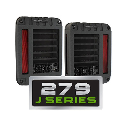 JW Speaker 0347531 Model 279 Series LED Tail Lights for Jeep Wrangler JK