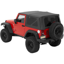 Bestop 54722-35 Supertop__ NX Soft Top with Tinted Windows for Jeep Wrangler JK 2 Door 2007-2016